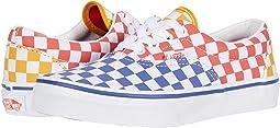 (Tri Checkerboard) Multi/True White