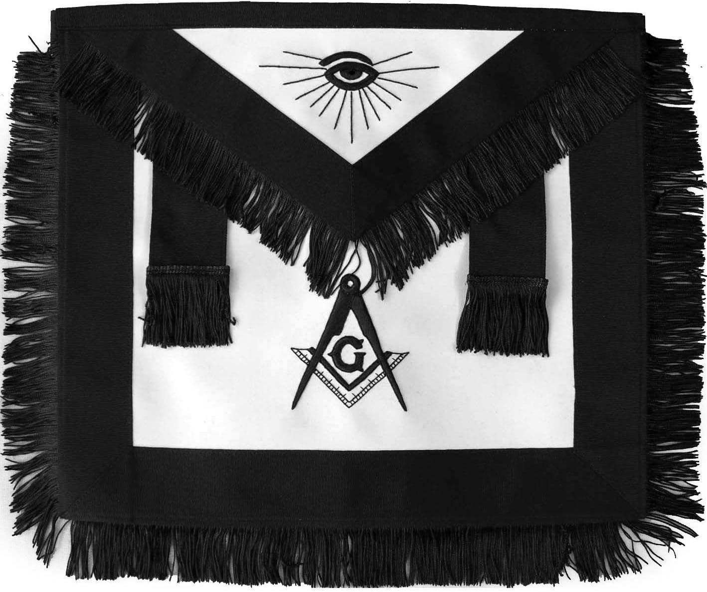 Bricks Popular product Masons Masonic Master Mason Fringe Black with Jacksonville Mall Funeral Han