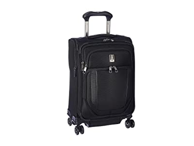 Travelpro 21.5 Crew Versapack Global Carry-On Expandable Spinner (Jet Black) Luggage