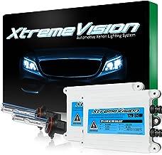 XtremeVision 55W AC Xenon HID Lights with Premium Slim AC Ballast - 9005 5000K - 5K Bright White - 2 Year Warranty