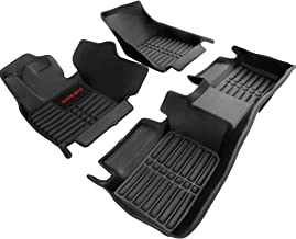 AWEMAT Custom Fit Car Floor Mats for Toyota Camry 2018-2019 Non-Hybrid Floor Liners Digital Measured Exquisite Pattern for-Large Coverage -Waterproof-All Weather Protection-Black