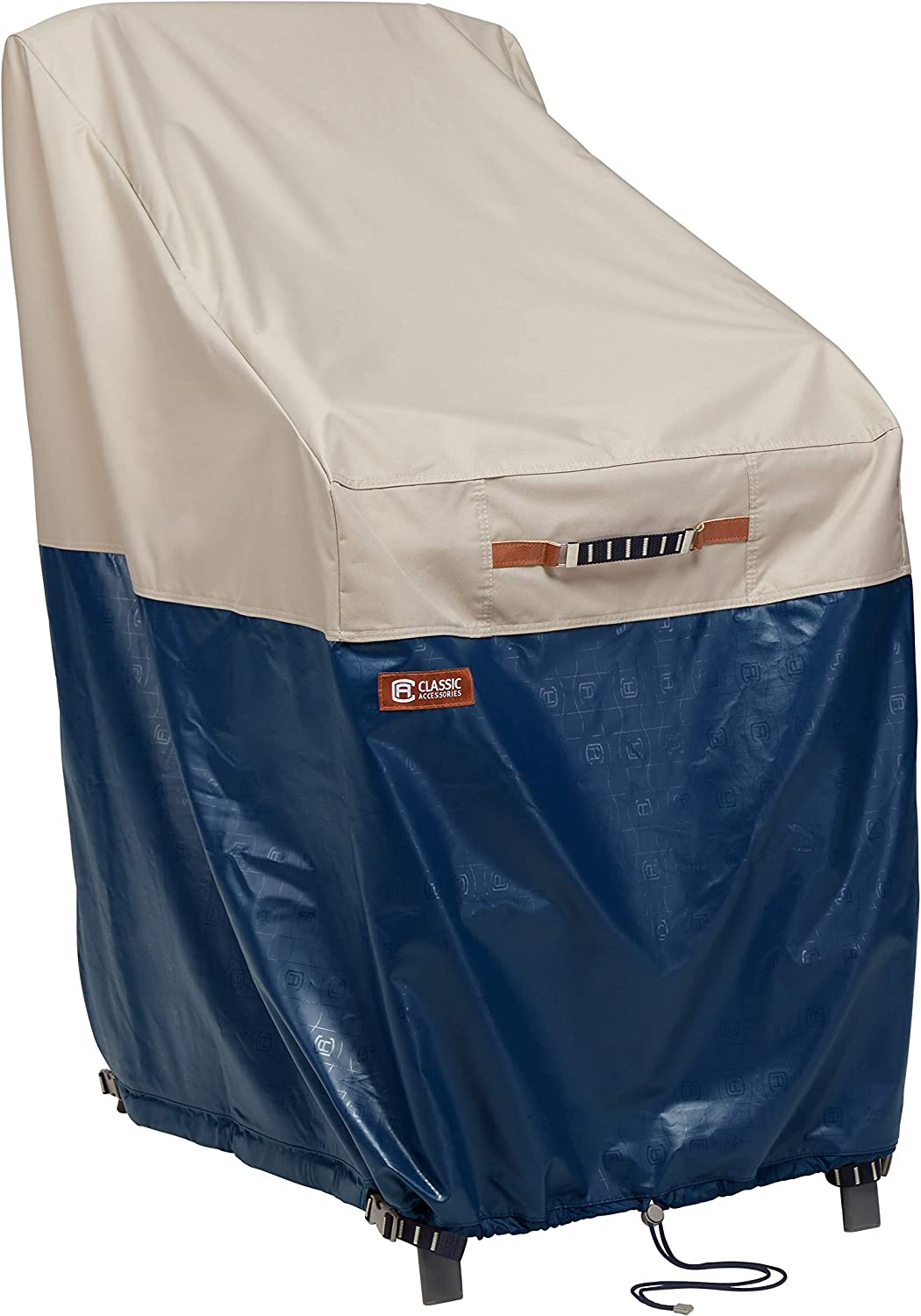 National products Spasm price Classic Accessories 56-058-014601-EC Stackable Cover Fog Chair