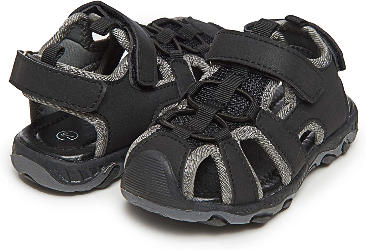 Skysole Boy's Wholesale Athletic Fisherman Factory outlet Sandals Closed-Toe Mesh