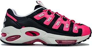PUMA Womens Cell Endura Trainers Sneakers in Black/Fuchsia Purple.