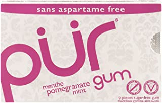 Pur Pomegranate Mint Gum, 12.6 g