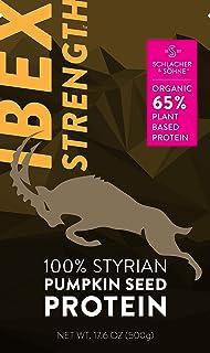 Schlacher & Söhne Styrian Pumpkin Seed Protein Powder: 100% Pure, Organic Plant Protein, Non GMO, Gluten Free, Vegan, No A...