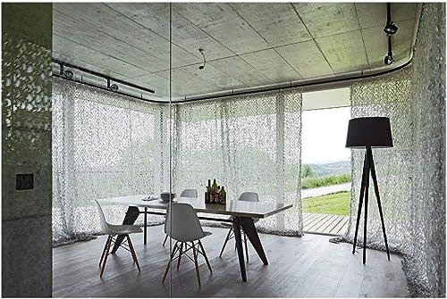 ZHhome 2x3m Camouflage Filet De Prougeection Solaire Crème Solaire Maille Tente Blanche, Camping en Plein Air pour Enfants en Plein Air Décoration De Jardin Cachée ( Taille   210M(6.632.8ft) )