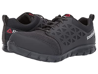 Reebok Work Sublite Cushion Work Comp Toe EH (Grey) Men