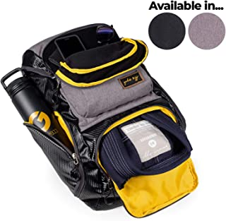 c3630c5a3b Gold BJJ Jiu Jitsu Backpack - Heavy Duty Gym Bag with Waterproof Gi Pocket