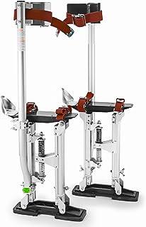 "GypTool Pro 15"" – 23"" Drywall Stilts – Silver"