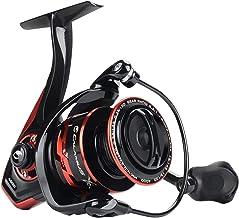 Calamus X2 Spinning Reel, 5.2:1 Gear Ratio Fishing Reel, 9+1 High Performance BB, Machined Aluminum Spool and Bail, Nylon ...