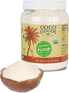 Sponsored Ad - CocoGoodsCo Vietnam Single-Origin Organic Coconut Flour, 36 oz/2.25 lbs