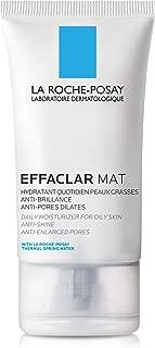 La Roche-Posay Effaclar Mat Face Moisturizer for Oily Skin, 1.35 Fl. Oz.
