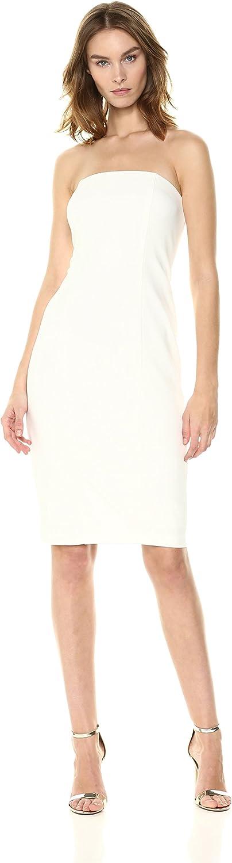 women Morgan Womens Strapless Crepe Sheath Dress Special Occasion Dress