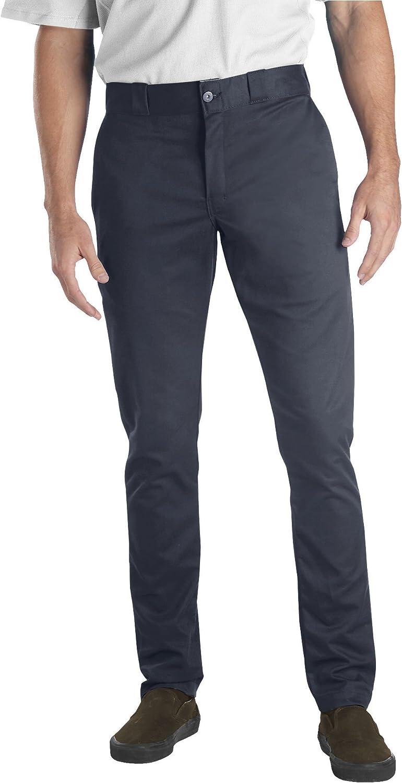 Dickies Mens Skinny Straight-Fit Work Pant