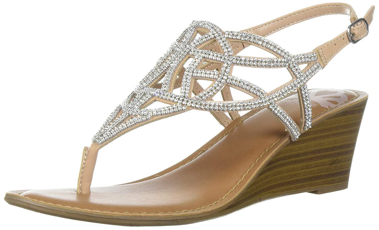 Fergalicious Womens Charity Wedge Sandal