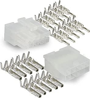Molex, 10 Circuit Connector -1 Complete Set- Wire Conn. with Pins - Molex Mini-Fit Jr