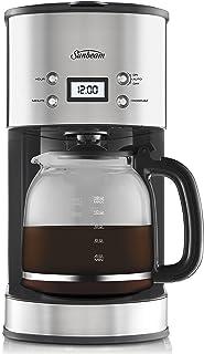 Sunbeam PC7900 Auto Brew Drip Filter Coffee Machine   12 Cup Programmable Coffee Maker   1.5L Jug   Delay Timer   Keep War...
