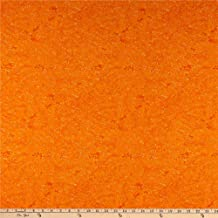 Wilmington Gone Batty Confetti Dots Orange Fabric by the Yard