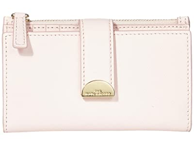 Marc Jacobs Half Moon Medium Flat Wallet (Pink Tutu) Wallet Handbags