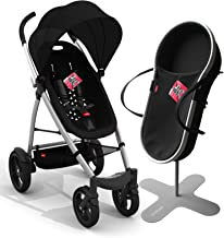 phil&teds smart buggy bassinet and stroller bundle black