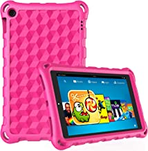 Kindle Fire 7 Case,Fire 7 Tablet Case,DiHines Light Weight Kids Shock Proof Cover for Fire 7 Tablet (Compatible with 7th Generation, 2017 Release/9th Generation, 2019)