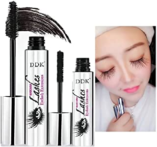 DDK 4D Mascara Cream Makeup Lash Cold Waterproof Mascara Eye Black Eyelash Extension..