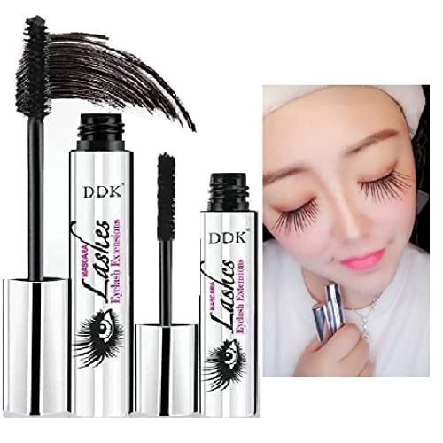 909ece5414a DISAAR BEAUTY DDK 4D Mascara Cream, Makeup Lash Cold Waterproof Mascara,  Eye Black,