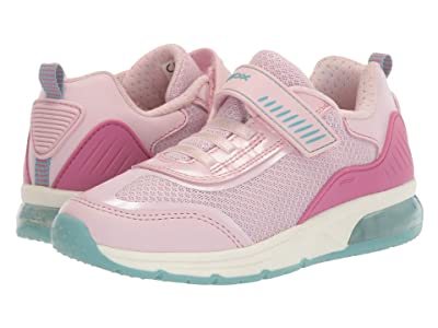 Geox Kids Spaceclub 6 (Little Kid/Big Kid) (Medium Pink) Girl