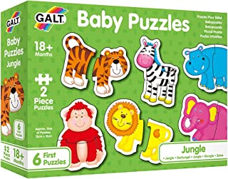 Galt Toys, Baby Puzzles - Jungle, Jigsaw Puzzles for Kids, Ages 18 Months Plus