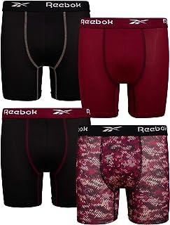 Reebok Boys Performance Boxer Briefs Underwear (4 Pack)