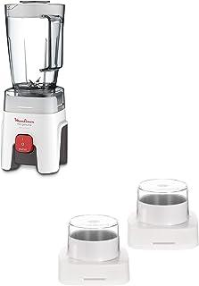 Moulinex Genuine Blender with grinder & grater, 500W, White, 1.75 Litre , LM242B27