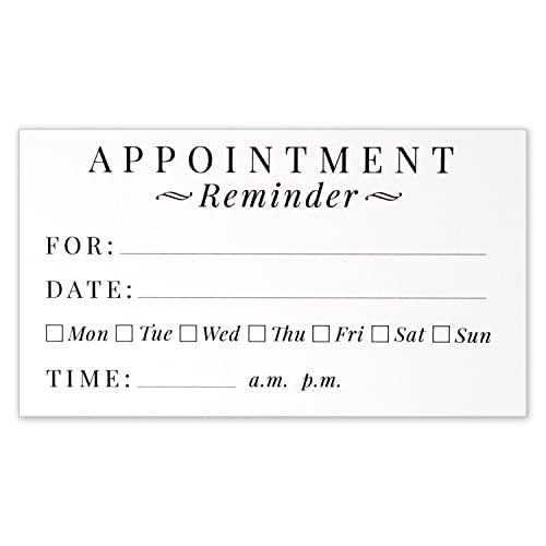 Nifty image throughout free printable appointment reminder cards