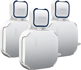 STANSTAR Wall Mount Brackets for EERO Pro WiFi System,Simple and Useful Designed,Space Saving,Sturdy Wall Mount Holder Wit...