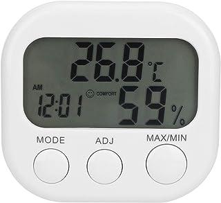 Omabeta Lätt att använda termometer väckarklocka termohygrometer lätt att installera bärbar digital hygrometer termometer ...