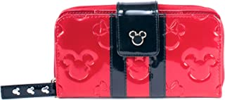 Disney Parks Minnie Loves Mickey Red Wallet Disney Boutique by Loungefly