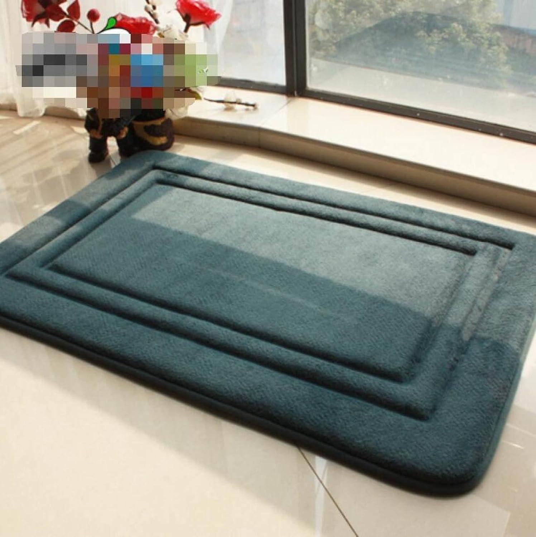 Home Mat Door Mat Door Bedroom Absorbent Non-Slip Thickened Mat Kitchen Living Room Bathroom Carpet,A2-40  60CM