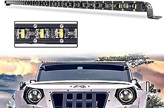 Single Row LED Light Bar 42 inch, Yvoone-Auto Slim LED...