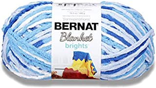 Bernat Blanket Bright Yarn, Waterslide Varg