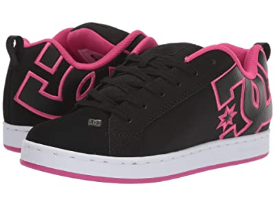 DC Court Graffik W (Black/Pink Stencil) Women