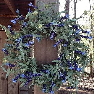 Flora Decor Lavender Fields Wreath 22