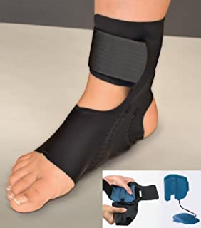 Air Ankle Support Without Stabilizer for Plantar Fasciitis, Achilles tendonitis, and Heel Pain (Large)