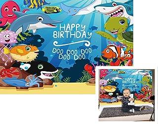 HUAYI 90210 Fotohintergrund, für Babyparty, Geburtstag, für Zuhause, Fotografie, Dessert, Tischfotobooth, W 1551, 6.5x5ft(200x150cm)