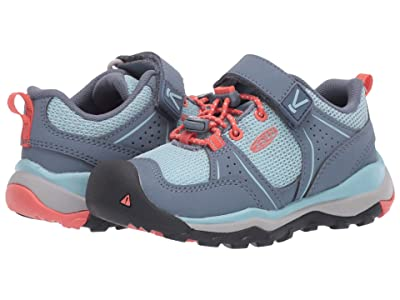 Keen Kids Terradora II Sport (Toddler/Little Kid) (Flint Stone/Coral) Girl