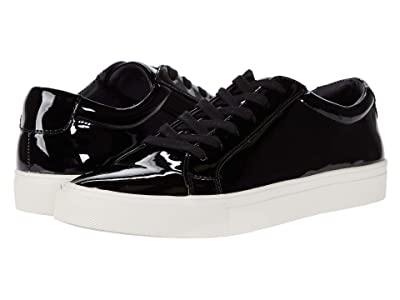 Steve Madden Coastal-P Sneaker (Black/White Patent) Men