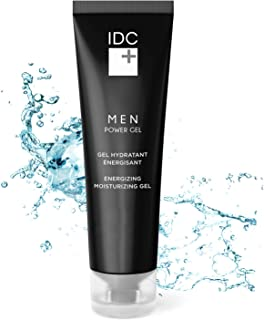 Intense Hydration Mens Face Moisturizer | Skin Care Cream After Shave Lotion for Men | Instantly Help to Relieve Razor Burn - Men Power Gel by IDC DERMO