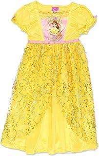 4b4878fb24 Disney Princess Belle Girls Fantasy Gown Nightgown (Little Kid Big Kid)