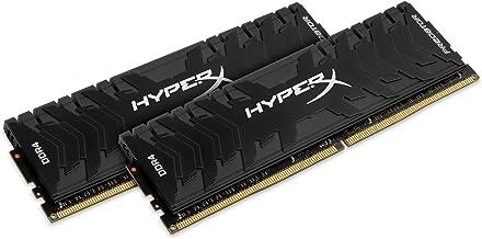 HyperX Predator - Memoria RAM de 32 GB (DDR4, Kit 2 x 16 GB, 2666 MHz, CL13, DIMM XMP, HX426C13PB3K2/32)
