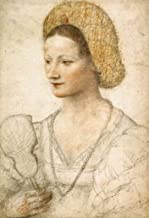 Portrait of a Young Woman with Fan by Bernardino Luini - 18