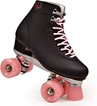 letu Artificial Leather Roller Skates Two-line Roller Skates Ladies Adult Two-line Roller Skates Shoes Patin Four-Color Pu...